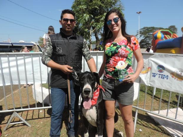 Maior cão (Foto: Diogo Marques/G1)