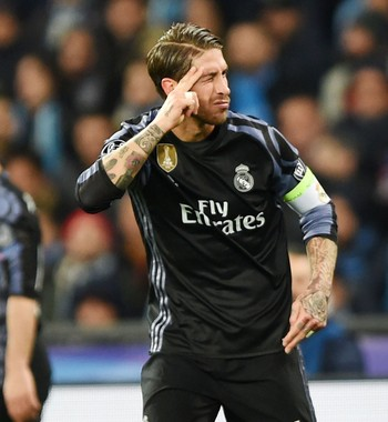 Sergio Ramos gol Real Madrid Napoli (Foto: Getty Images)