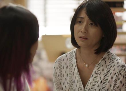 Mitsuko abre o coração para Tina