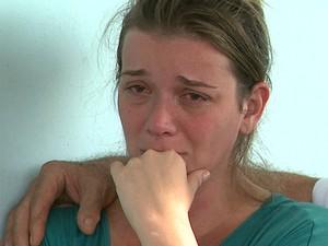 Natália foi presa na noite de domingo (11) junto com o marido, principais suspeitos de participar da morte do menino Joaquim (Foto: Márcio Meireles/EPTV)