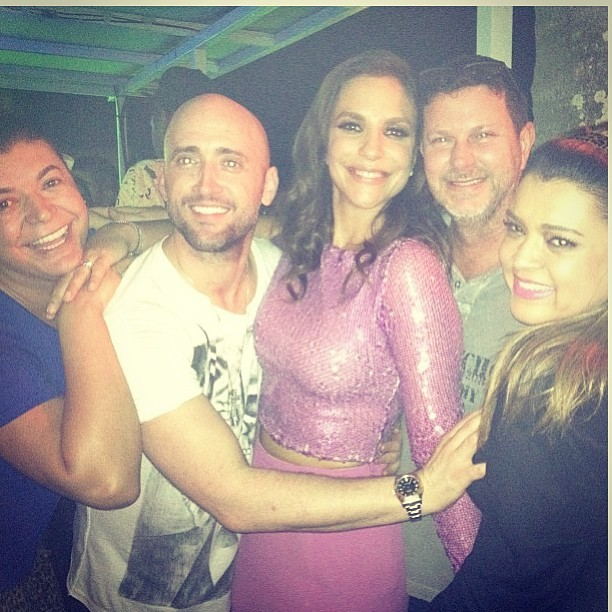 David Brazil, Paulo Gustavo, Ivete Sangalo e Preta Gil (Foto: Reprodução/Instagram)