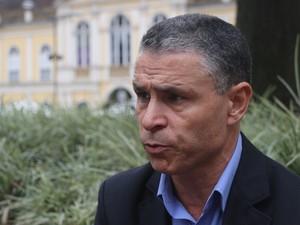 João Carlos Rodrigues é candidato à prefeitura de Porto Alegre (Foto: Joyce Heurich/G1)