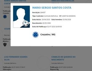 Marinho Cruzeiro BID (Foto: Reprodução /Site CBF)