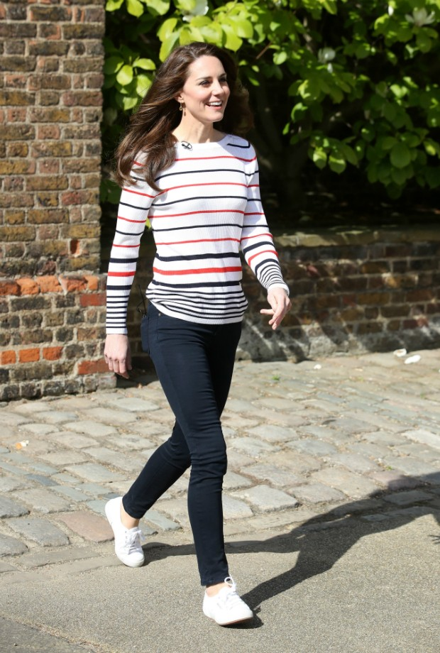 Kate durante recepção da maratona de Londres  (Foto: Getty)