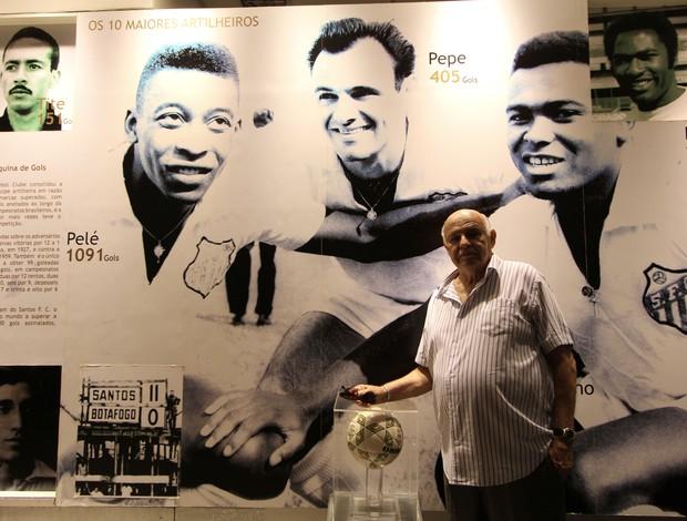 Santos Pepe (Foto: Uéliton Silva/TV Globo)