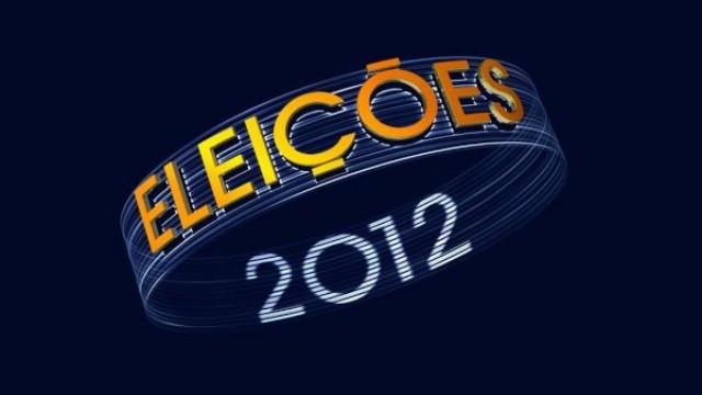 Logo Eleições 2012 (Foto: Reprodução / Rede Globo)