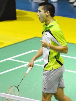 Alex Tjong Badminton (Foto: Marcello Dias / Divulgação)