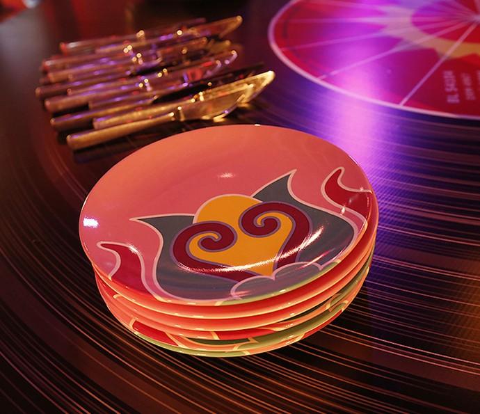 Pausa para os detalhes dos pratos (Foto: Raphael Dias/Gshow)