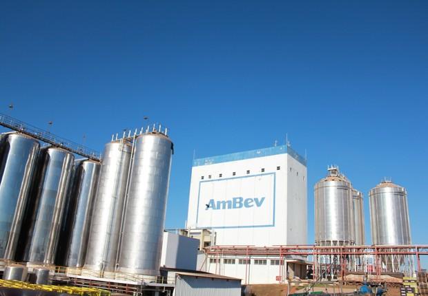 Fábrica da Ambev em Anápolis, Goiás (Foto: Divulgação)