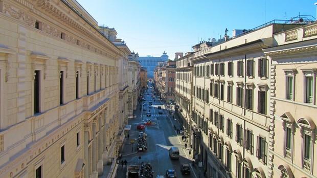 Hotis em Roma repleto de histria (Foto: Divulgao)