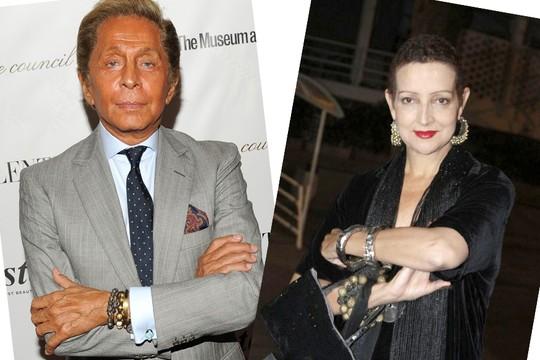 Valentino lamenta a morte de Betty Lago - ela desfilou para ele várias vezes na década de 80  (Foto: Getty Images e AG.News)