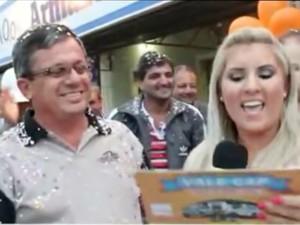 José Airton Monteiro, de Taubaté, mudou a vida com o prêmio de R$ 400 mil do Vale Cap (Foto: Divulgação / Vale Cap)