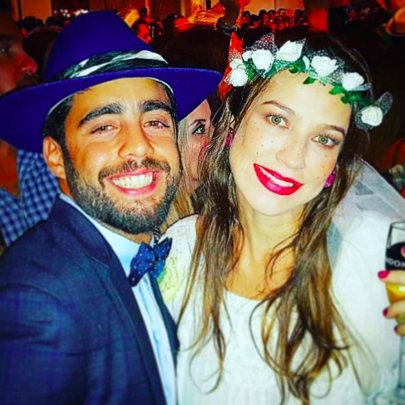 Luana Piovani e Pedro Scooby no arraiá (Foto: Reprodução/Instagram)