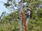 Manutenção deixa áreas de 3 regiões do DF sem energia nesta quarta