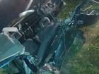 Três pessoas morrem em batida na BR-101, em Içara, no Sul de SC