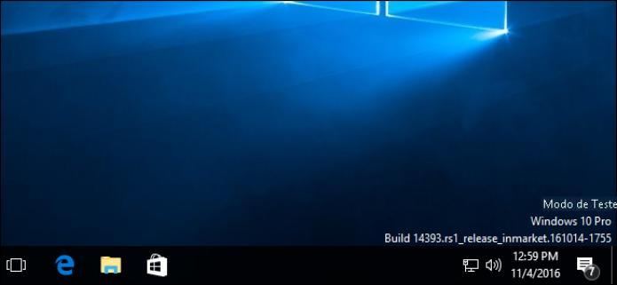 modo teste windows 7