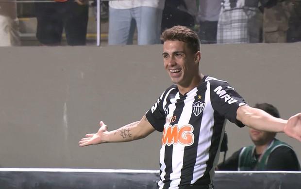 Neto Berola, atacante do Atlético-MG (Foto: Reprodução\PFC)