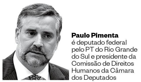 Paulo Pimenta, presidente da Comissão de Direitos Humanos da Câmara (Foto: Luis Macedo/Abr)