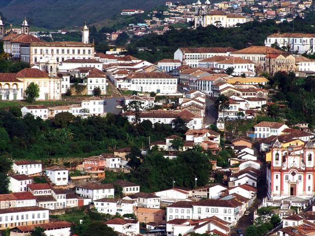 Inicialmente chamada de Vila Rica, Ouro Preto foi a primeira capital de Minas Gerais (Foto: Eduardo Tristão - Setic /Prefeitura de Ouro Preto)