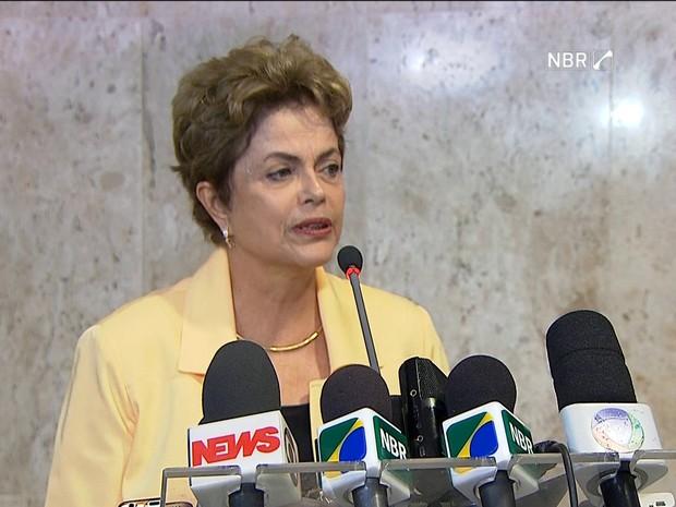 Dilma Rousseff (Foto: reprodução GloboNews)
