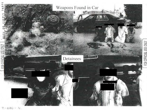 Fotos divulgadas preservam a identidade dos detentos. (Foto: Reuters)