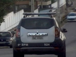 MP instalou escuta no carro 924 e descobriu que PMs que cometiam crimes (Foto: Reprodução/TV Globo)