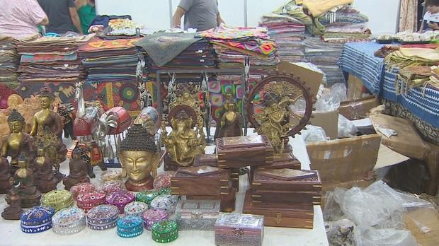 amapá tv, artesanato, feira internacional (Foto: Amapá TV)