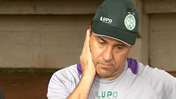 Zé Teodoro, técnico do Guarani (Foto: Reprodução / EPTV)