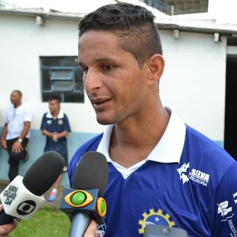 Zagueiro Rocha São José Esporte Clube (Foto: Filipe Rodrigues)