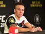 """Bate-Estaca vê pontos positivos em derrota no UFC 211, mas diz: """"Travei"""""""