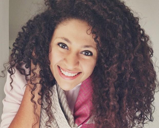 Bruna confessa não ter vontade de mudar o cabelo (Foto: Arquivo pessoal)