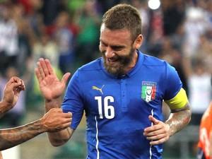 De rossi Itália X Holanda (Foto: Getty Images)