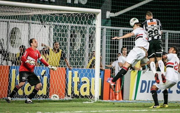 Leonardo, Atlético-MG x São Paulo (Foto: Bruno Cantini)