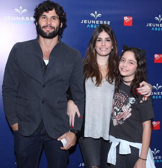Dudu Azevedo e a mulher, Fernanda Mader (Foto: Marcello Sá Barretto/AgNews)