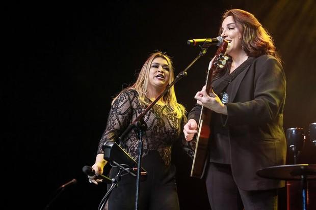 Preta Gil e Ana Carolina (Foto: Raphael Castello/AgNews)