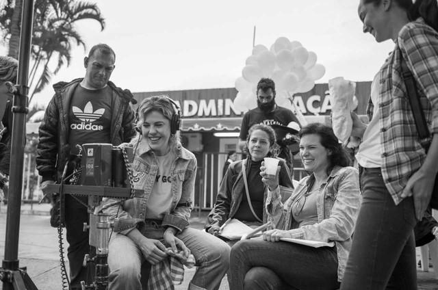 Bárbara Paz  filma 'Borderline', longa dirigido por Cibele Amaral.  (Foto: Divulgação)