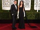 George Clooney recicla smoking de seu casamento para o Globo de Ouro