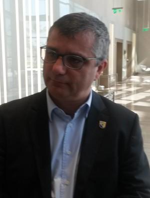 Marco Antônio Martins reunião Anaf (Foto: Daniel Mundim)