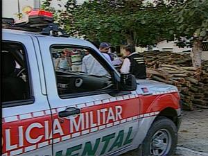 Polícia Ambiental vai participar de fiscalizações das fogueiras juninas (Foto: Reprodução/TV Paraíba)