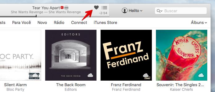 Curtindo uma música no Apple Music (Foto: Reprodução/Helito Bijora)