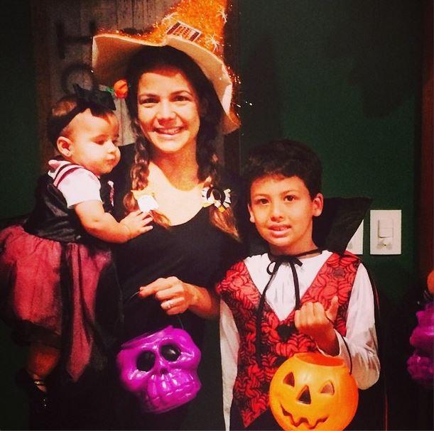 Bruna, Nívea e o filho Miguel (Foto: Reprodução/Instagram)