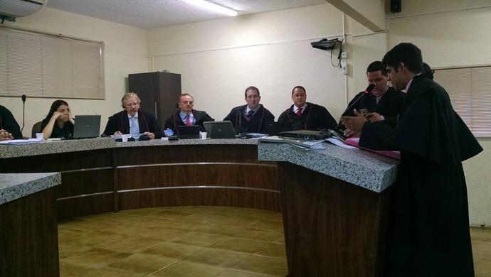 Julgamento Guarany de Sobral TJDF-CE (Foto: Jus])
