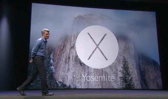 Yosemite é o nome do novo OS X 10.10  (Foto: Reprodução/Apple)