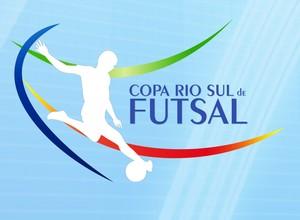 Logotipo oficial da Copa Rio Sul de Futsal 2014 (Foto: Arte/TV Rio Sul)