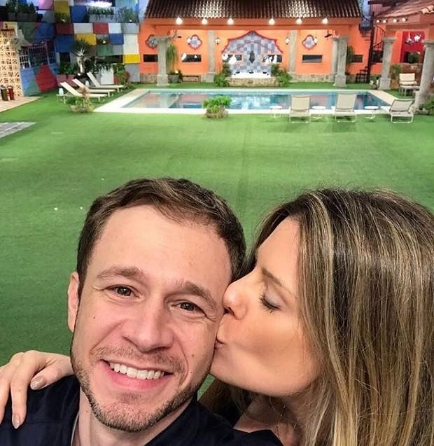 Tiago Leifert e Daiana Garbin (Foto: Reprodução/Instagram)