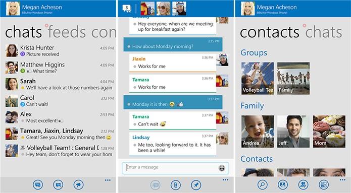 BBM é um aplicativo de mensagens da BlackBerry com foco em privacidade para Windows Phone (Foto: Divulgação/Windows Phone Store)