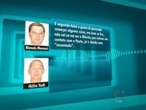 Gravações revelam que empreiteiro influenciava em fiscalização de obras (Foto: Reprodução TV Morena)