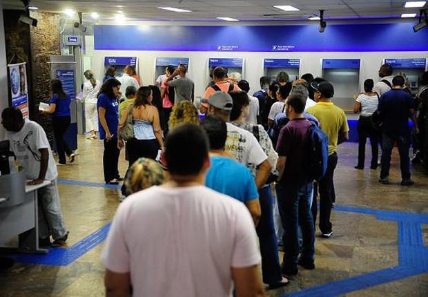 Caixa Econômica Federal ; bancos ; saque de contas inativas do FGTS ; FGTS inativo ; (Foto: Tomaz Silva/Agência Brasil)