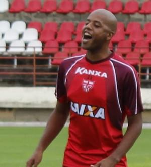 Audálio zagueiro do CRB (Foto: Caio Lorena / GloboEsporte.com)
