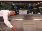 Evaristo Costa retorna ao Jornal Hoje: 'Estava morrendo de saudade'